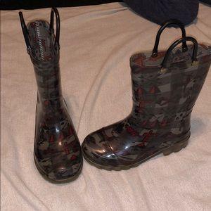 Light up rain boots size 9/10